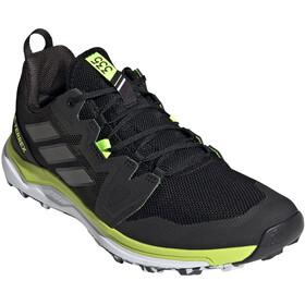 adidas TERREX Agravic Trail Running Shoes Men, noir/jaune